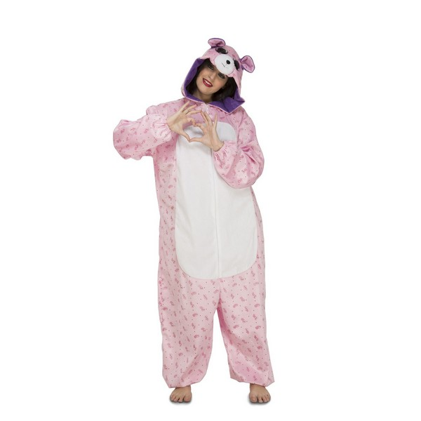 disfraz pijama osita mujer - DISFRAZ PIJAMA DE OSITA MUJER