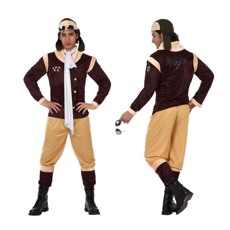 5cfcca156f704 DISFRAZ DE AVIADOR DE EPOCA PARA HOMBRE - Disfraces de Hombre ...