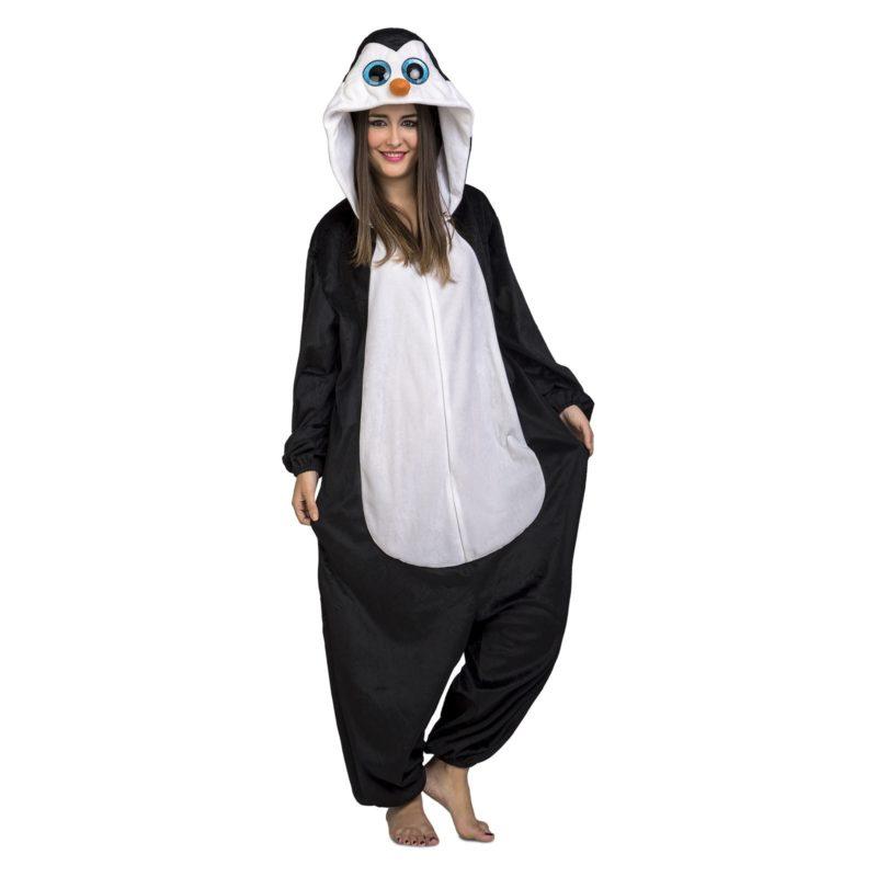 disfraz pingüino adulto 800x800 - DISFRAZ DE PINGÜINO PIJAMA ADULTO