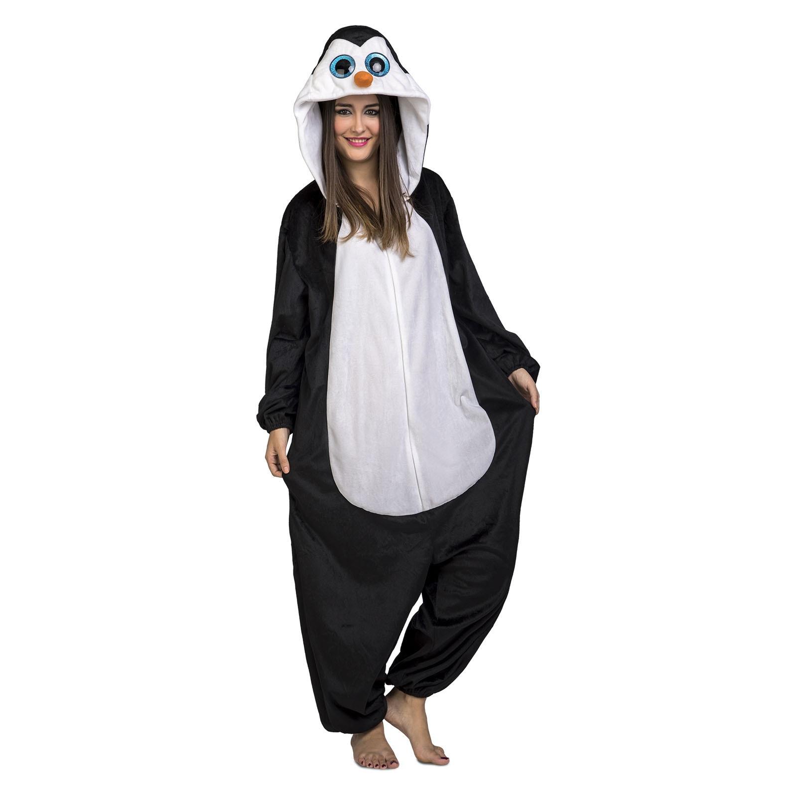 disfraz pingüino adulto - DISFRAZ DE PINGÜINO PIJAMA ADULTO