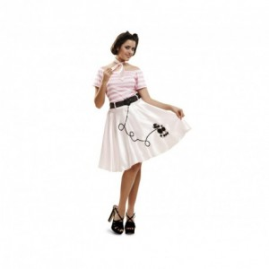 disfraz pink lady mujer - DISFRAZ  DE PINK LADY MUJER