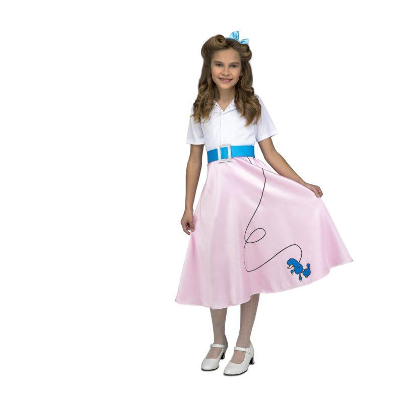 disfraz pink lady niña 800x800 - DISFRAZ DE PINK LADY ROSA NIÑA