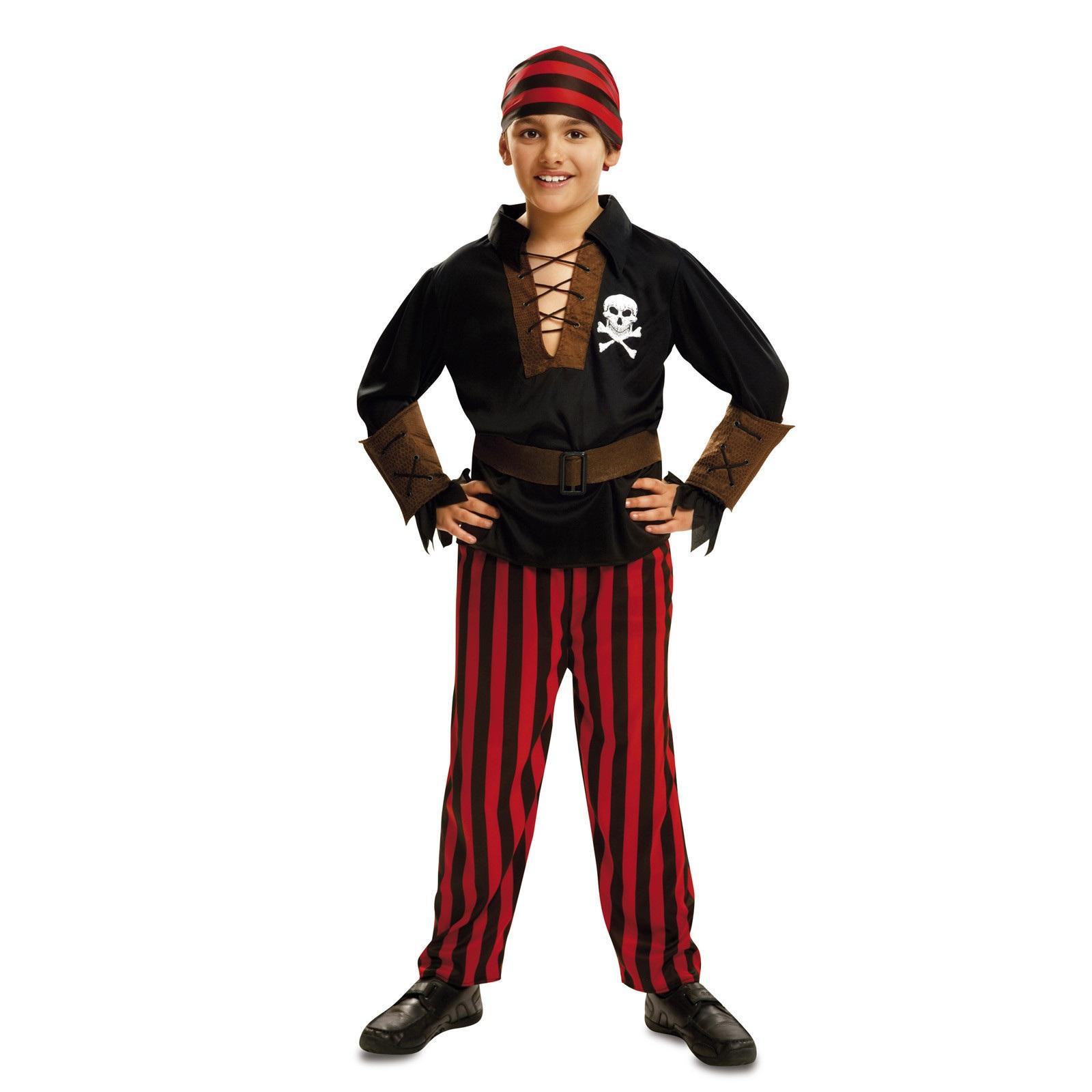 disfraz pirata bandana bebé niño 200587mom - DISFRAZ DE PIRATA BANDANA BEBE NIÑO