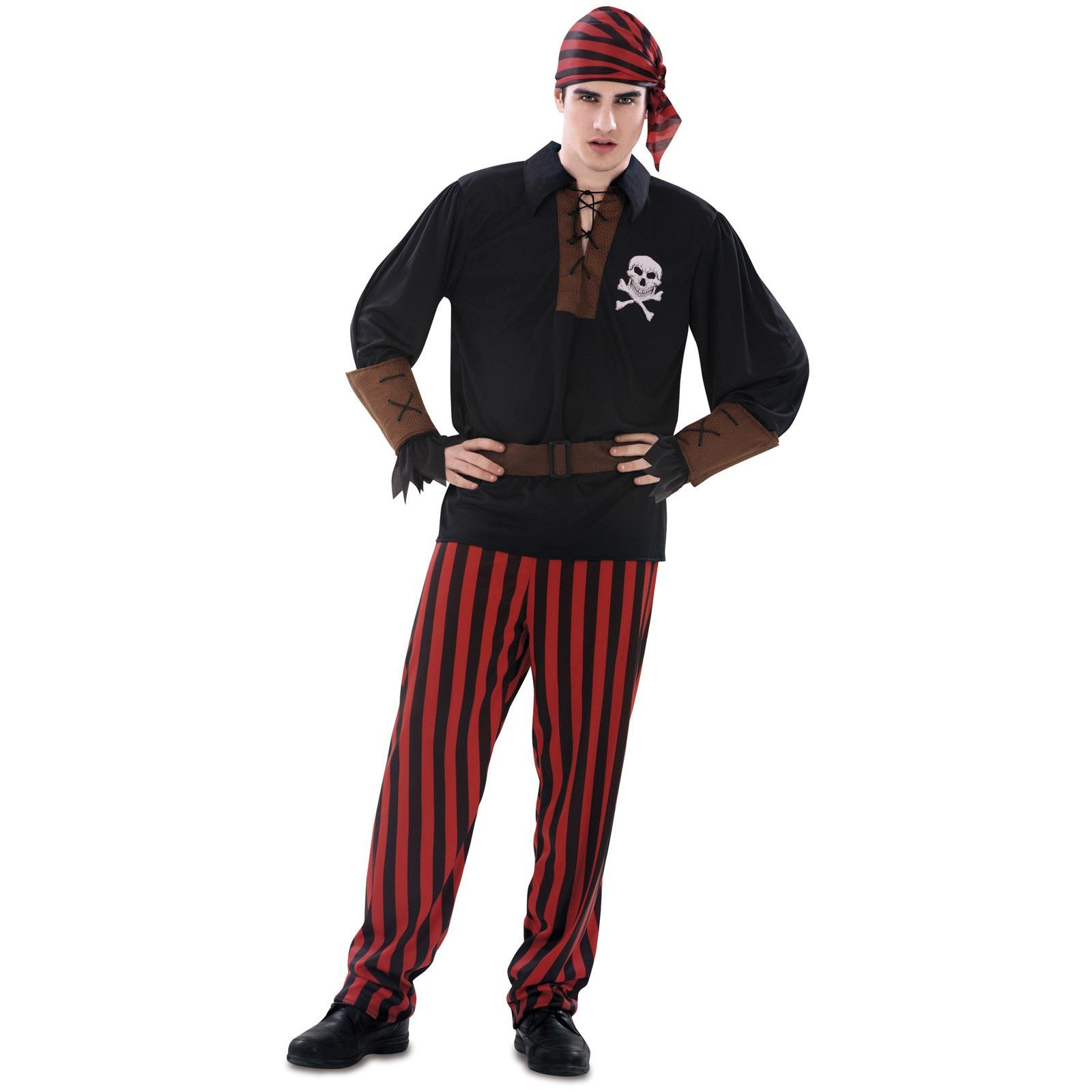 disfraz pirata bandana hombre 200625mom - DISFRAZ DE PIRATA BANDANA HOMBRE