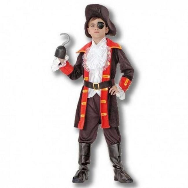 disfraz pirata bucanero niño - DISFRAZ DE BUCANERO NEGRO NIÑO