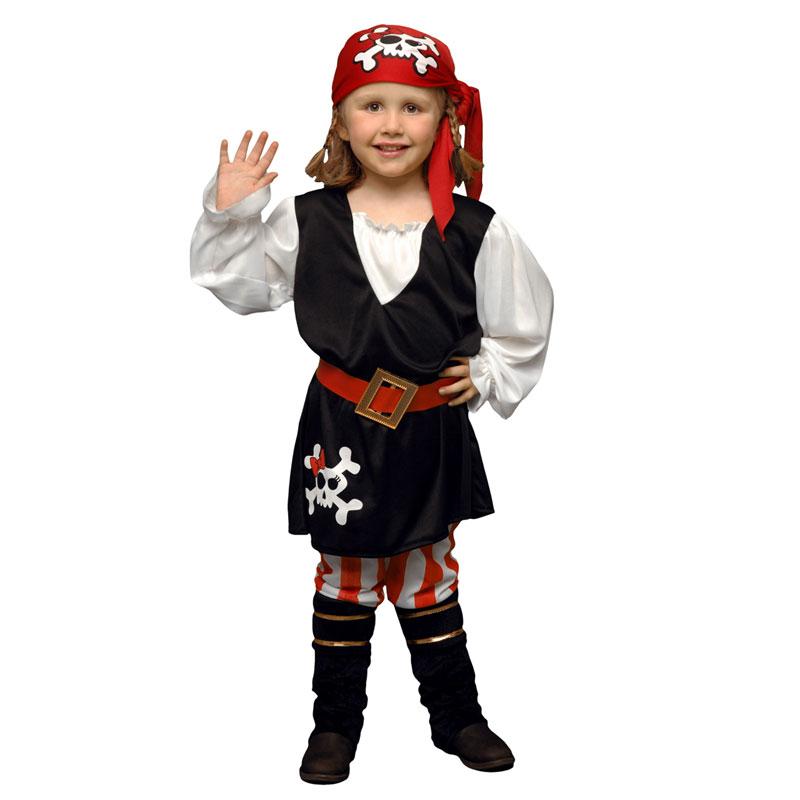 disfraz pirata calavera niña - DISFRAZ PIRATA CALAVERA NIÑA