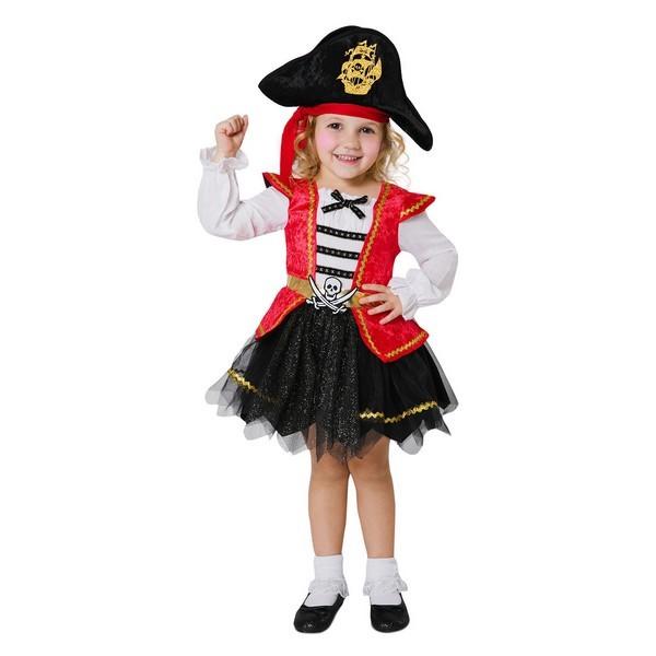 disfraz pirata caribeña infantil 1 - DISFRAZ DE PIRATA CARIBEÑA NIÑA