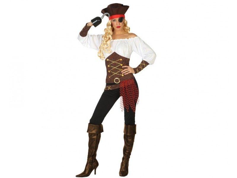 disfraz pirata mujer 3 800x600 - DISFRAZ DE PIRATA MUJER