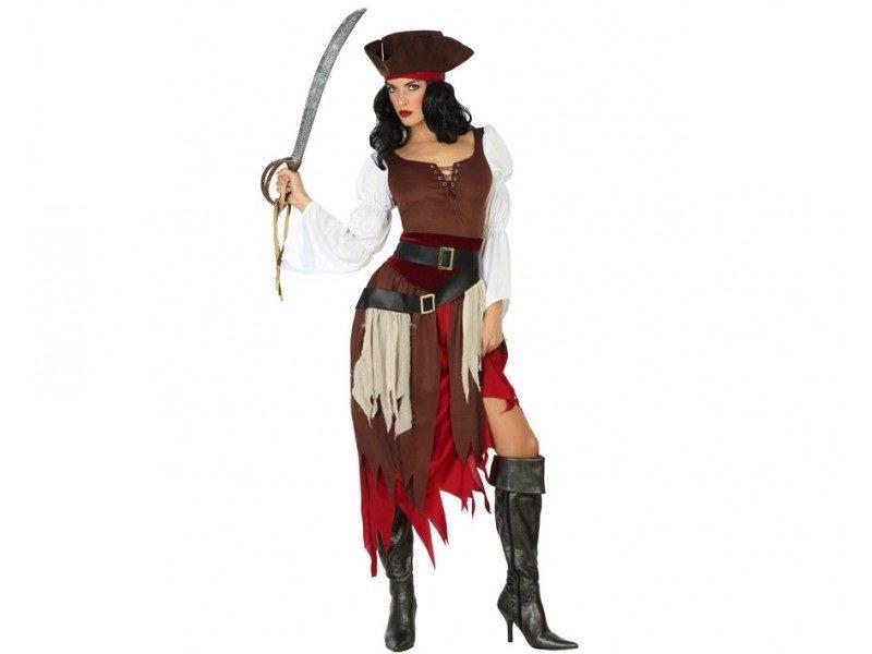 disfraz pirata mujer 800x600 - DISFRAZ DE PIRATA MUJER