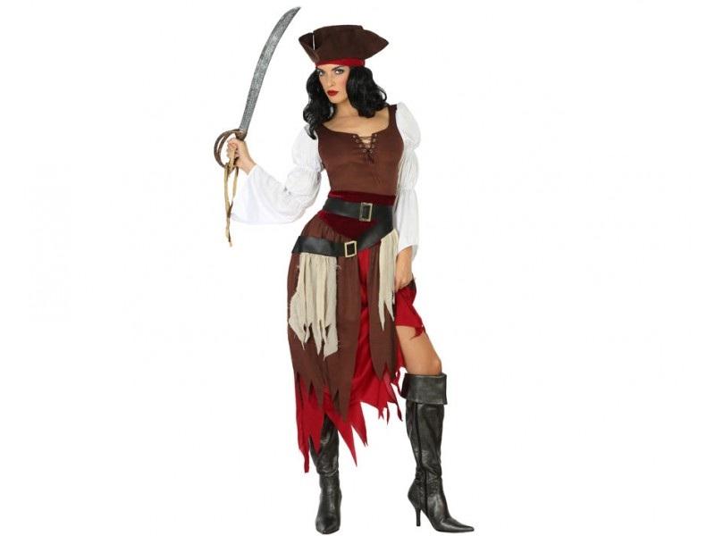 disfraz pirata mujer - DISFRAZ DE PIRATA MUJER