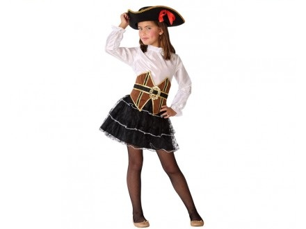 disfraz pirata niña 3 - DISFRAZ DE PIRATA NIÑA