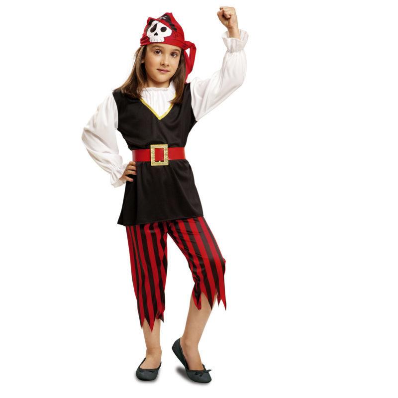 disfraz pirata niña peque 800x800 - DISFRAZ DE PIRATA NIÑA BEBÉ