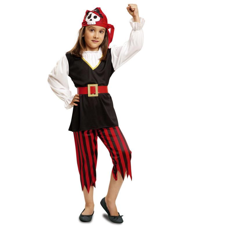 disfraz pirata niña peque - DISFRAZ DE PIRATA NIÑA BEBE