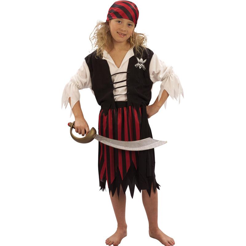 disfraz pirata niña - DISFRAZ DE PIRATA NIÑA