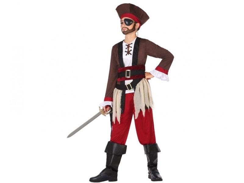 disfraz pirata niño 1 - DISFRAZ DE PIRATA NIÑO