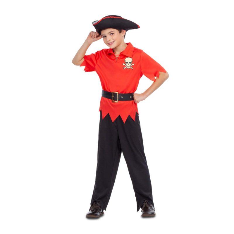 disfraz pirata niño rojo 800x800 - DISFRAZ DE PIRATA ROJO NIÑO