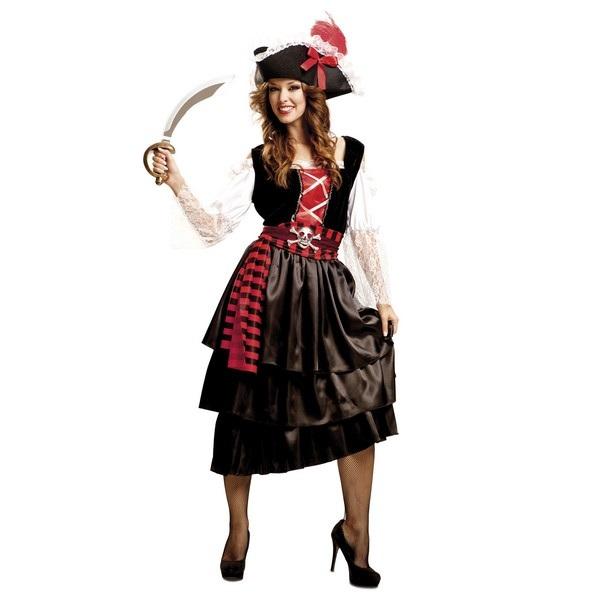 disfraz pirataglamour mujer 201502mom - DISFRAZ DE PIRATA GLAMOUR MUJER