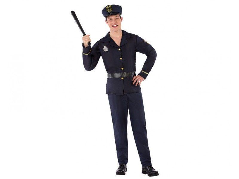 disfraz policia adolescente hombre 800x600 - DISFRAZ DE POLICIA HOMBRE