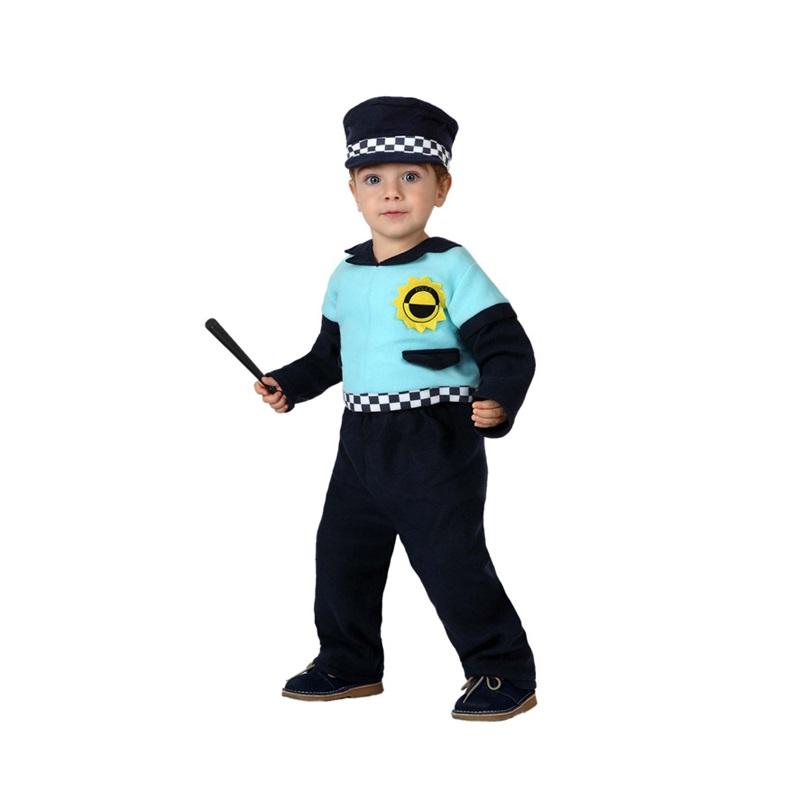 disfraz policia bebé - DISFRAZ DE POLICIA BEBÉ
