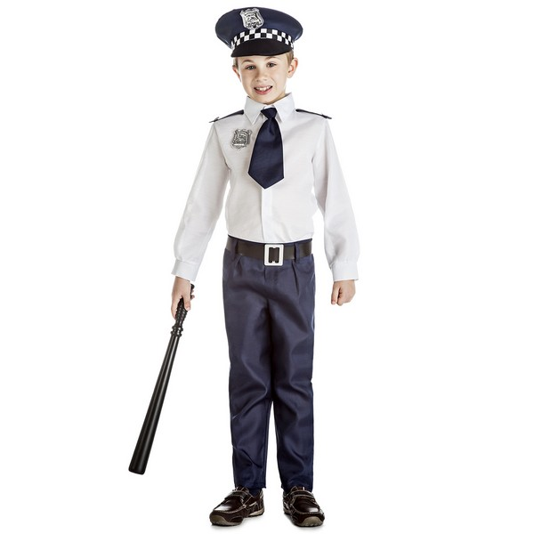 disfraz policia camisa niño - DISFRAZ POLICIA CAMISA NIÑO