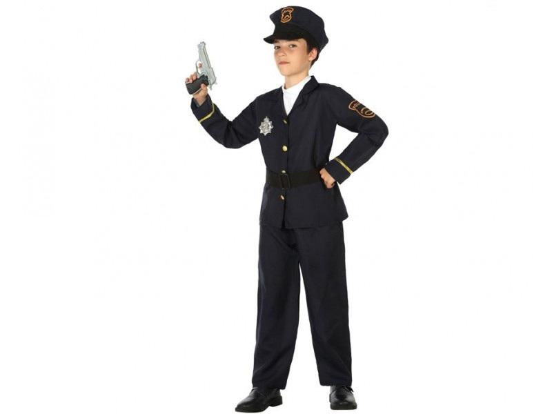 disfraz policia chaqueta niño - DISFRAZ DE POLICIA CHAQUETA NIÑO