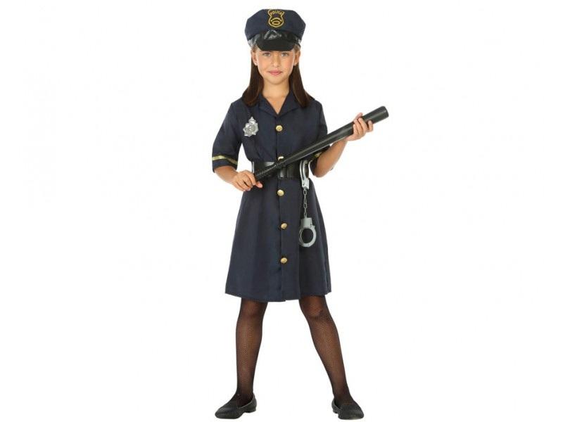 disfraz policia niña 2 - DISFRAZ DE POLICIA NIÑA