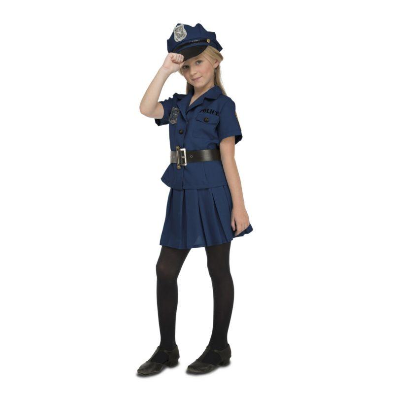 disfraz policia niña 3 800x800 - DISFRAZ DE POLICIA NIÑA