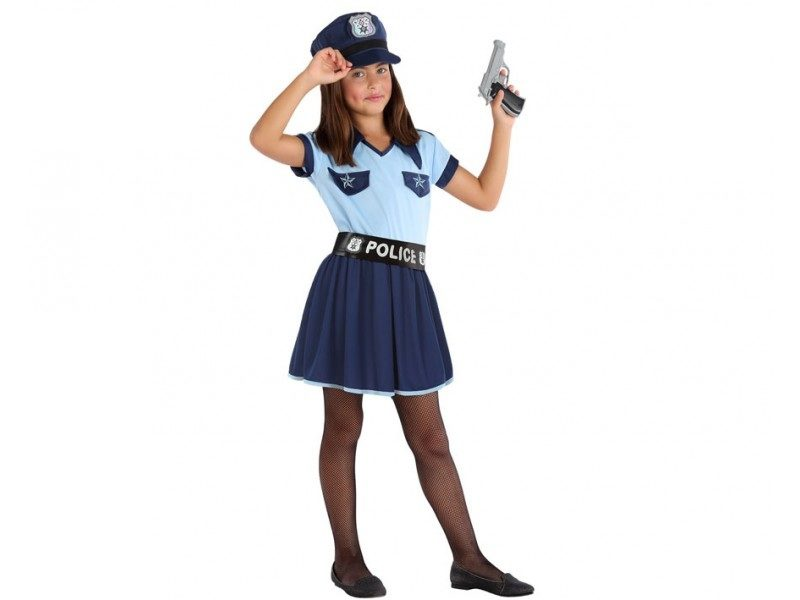 disfraz policia niña 4 800x600 - DISFRAZ DE AGENTE POLICIA NIÑA