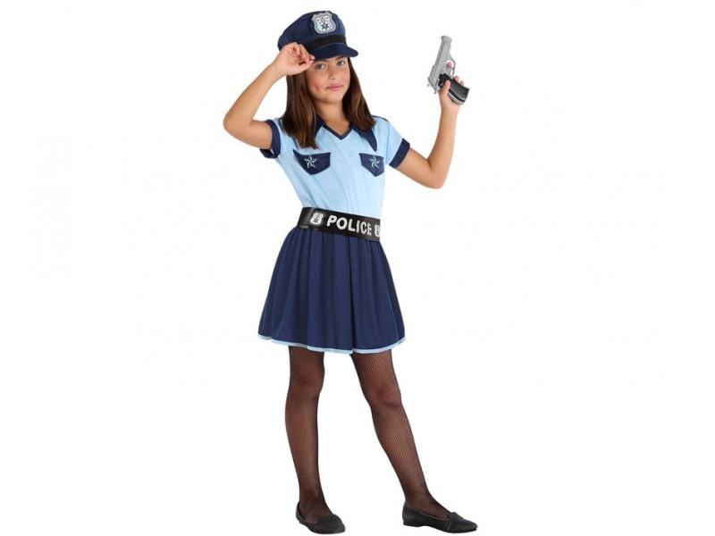 disfraz policia niña 4 - DISFRAZ DE POLICIA NIÑA