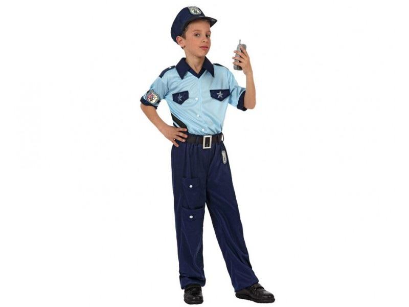 disfraz policia niño 2 - DISFRAZ DE POLICIA NIÑO