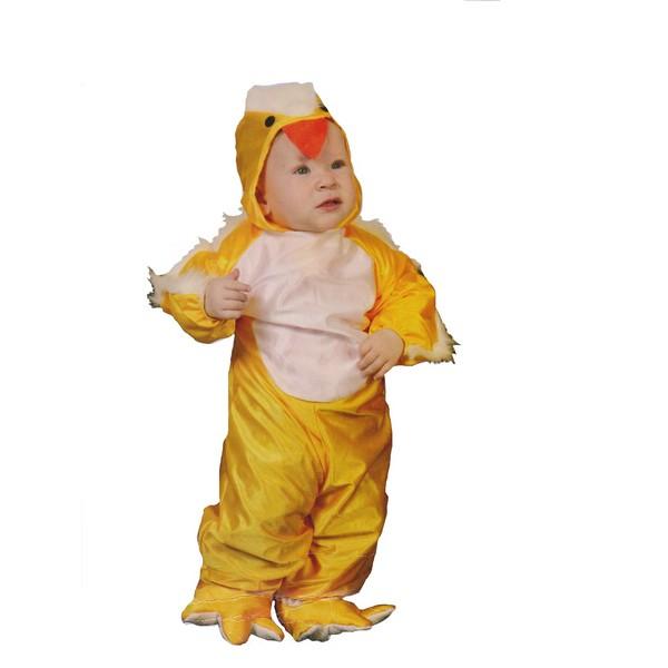 disfraz polito bebé - DISFRAZ DE POLLITO BEBÉ