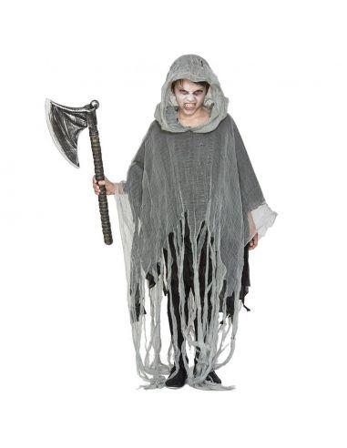 disfraz poncho zombie infantil - DISFRAZ PONCHO ZOMBIE INFANTIL