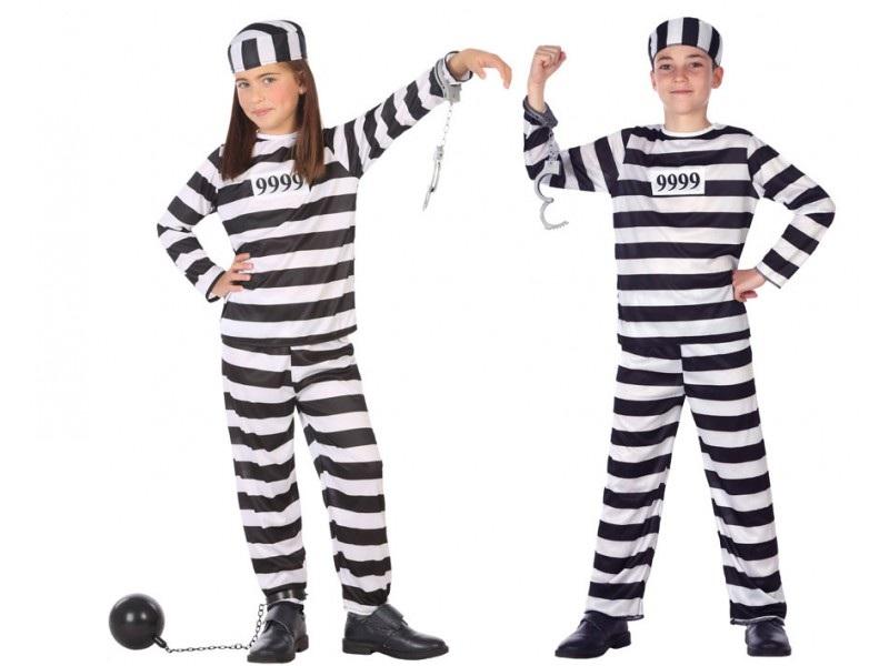 disfraz preso infantil - DISFRAZ DE PRESO INFANTIL