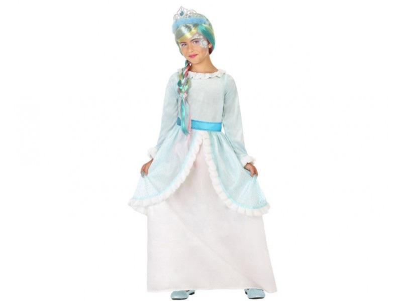 disfraz princesa azul niña - DISFRAZ DE PRINCESA AZUL NIÑA