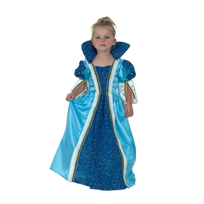 disfraz princesa azul peque - DISFRAZ DE PRINCESA ÉPOCA AZUL BEBÉ
