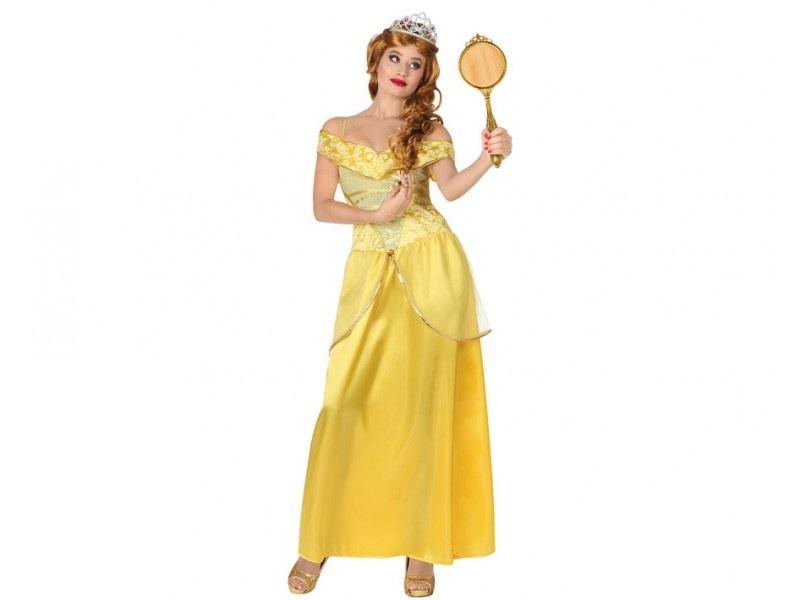 disfraz princesa bella mujer - DISFRAZ DE PRINCESA BELLA MUJER