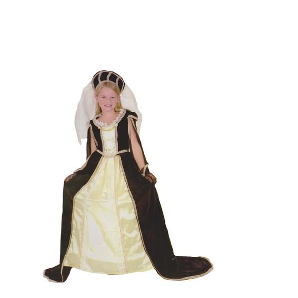 disfraz princesa medieval - DISFRAZ DE PRINCESA MEDIEVAL NIÑA