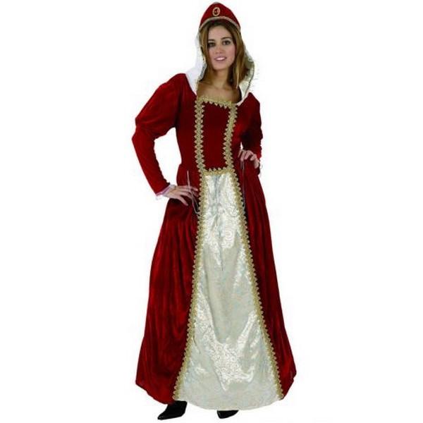 disfraz princesa roja mujer - DISFRAZ DE PRINCESA ROJA ADULTO