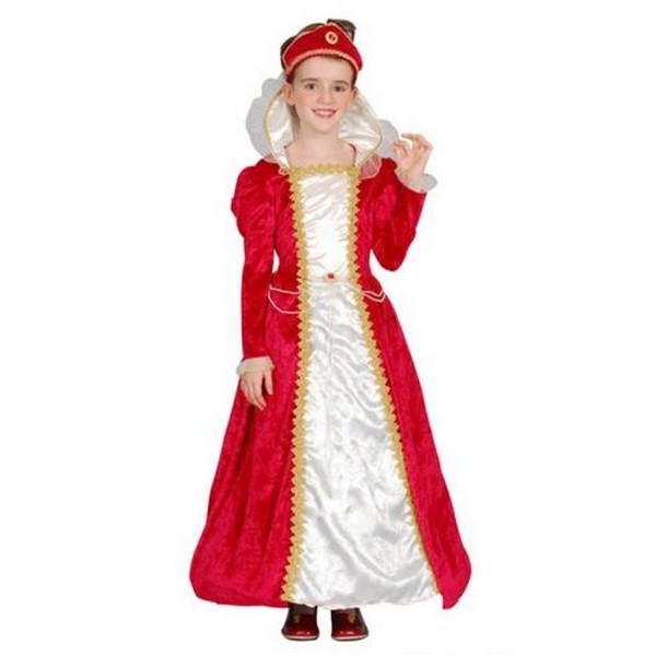 disfraz princesa rojo infantil - DISFRAZ DE  PRINCESA ROJO INFANTIL