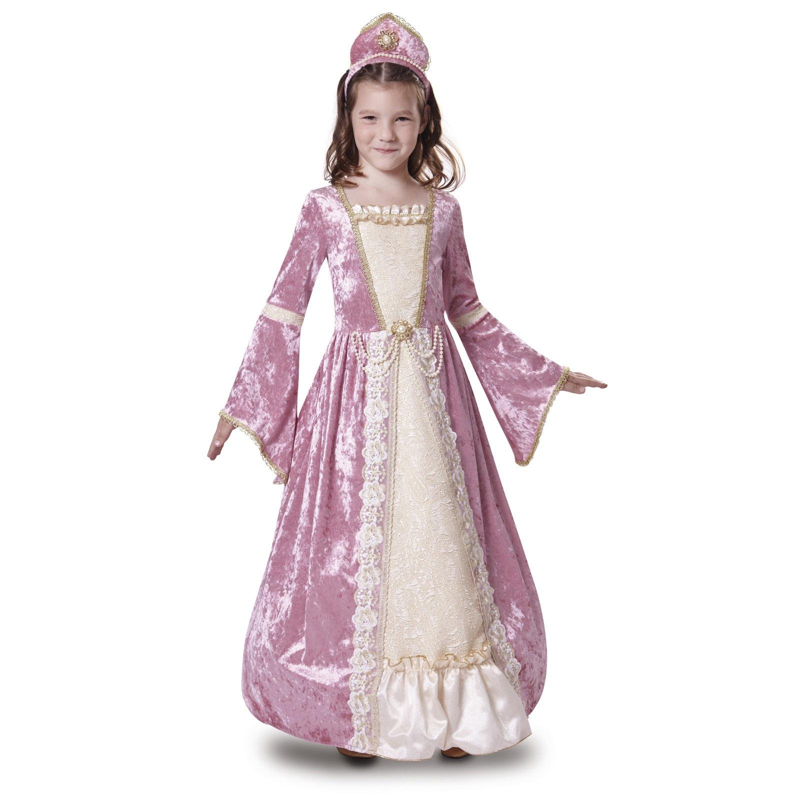 disfraz princesa romántica rosa 200679mom - DISFRAZ DE PRINCESA ROMANTICA ROSA NIÑA