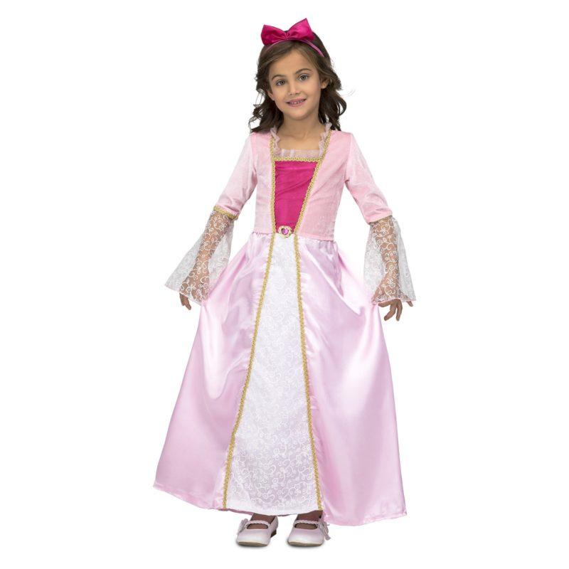 disfraz princesa rosa corazón niña 800x800 - DISFRAZ DE PRINCESA ROSA CORAZON NIÑA