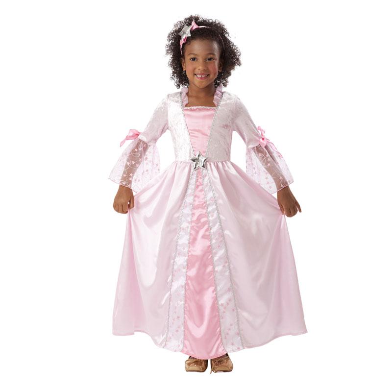 disfraz princesa rosa infantil. - DISFRAZ DE PRINCESA ESTRELLA INFANTIL