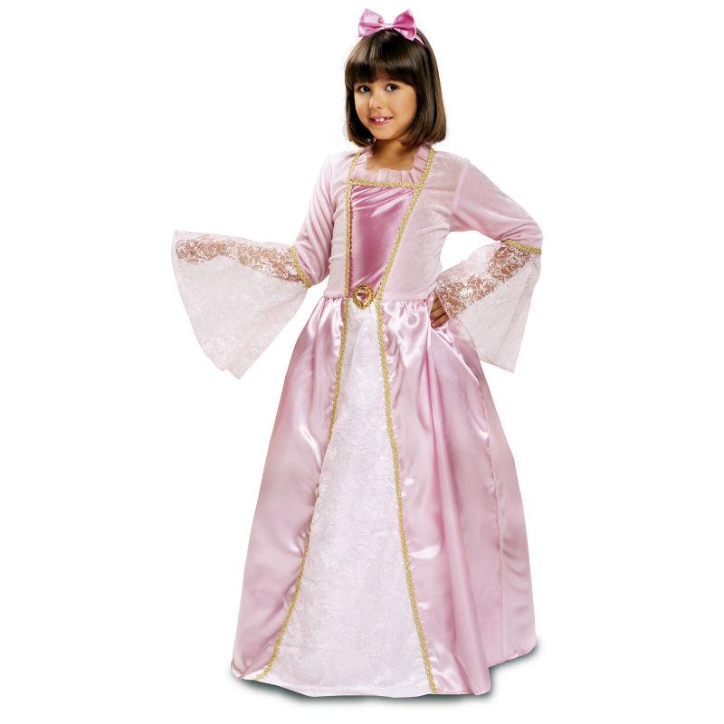 disfraz princesa rosa infantil - DISFRAZ DE PRINCESA ROSA INFANTIL