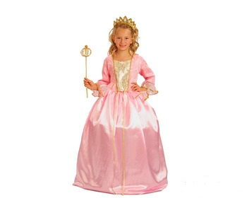 disfraz princesa rosa niña - DISFRAZ DE PRINCESA ROSA ARO NIÑA