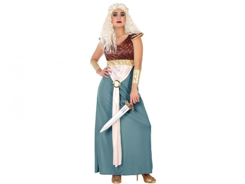 disfraz princesa trono mujer - DISFRAZ DE PRINCESA TRONO MUJER