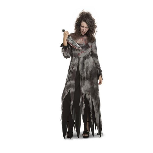 disfraz psicópata mujer - DISFRAZ DE DEMENTE PSICÓPATA MUJER