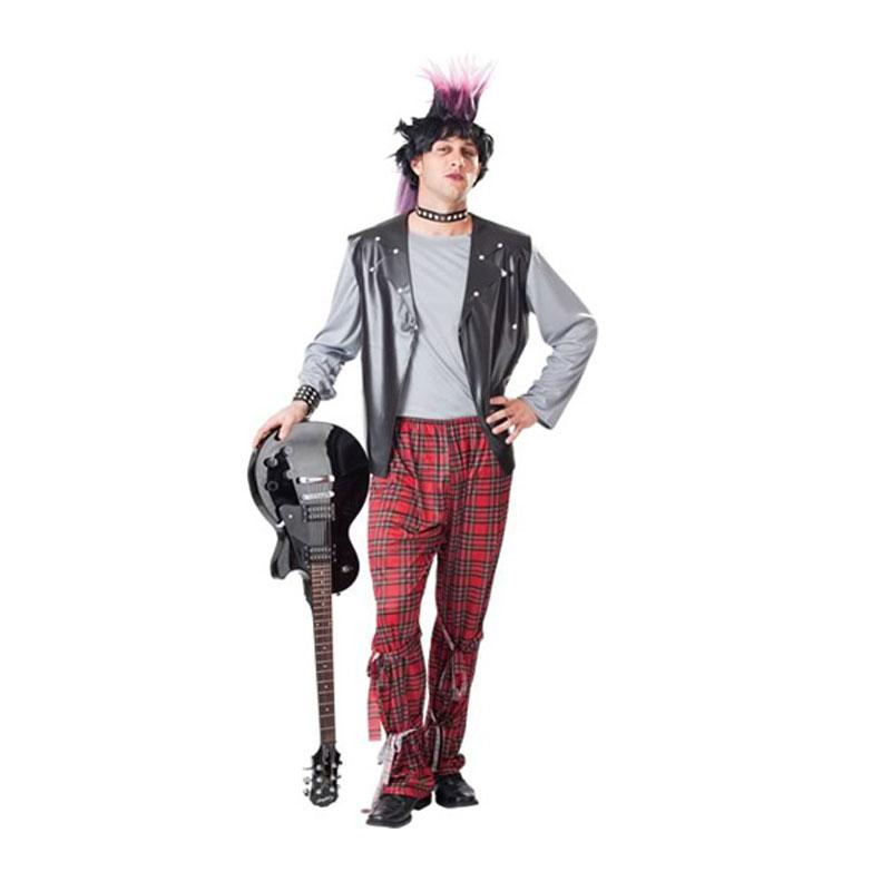 disfraz punky hombre - DISFRAZ DE PUNK HOMBRE