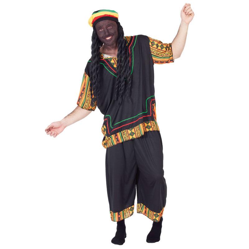 disfraz rastafari adulto - DISFRAZ DE RASTAFARI ADULTO