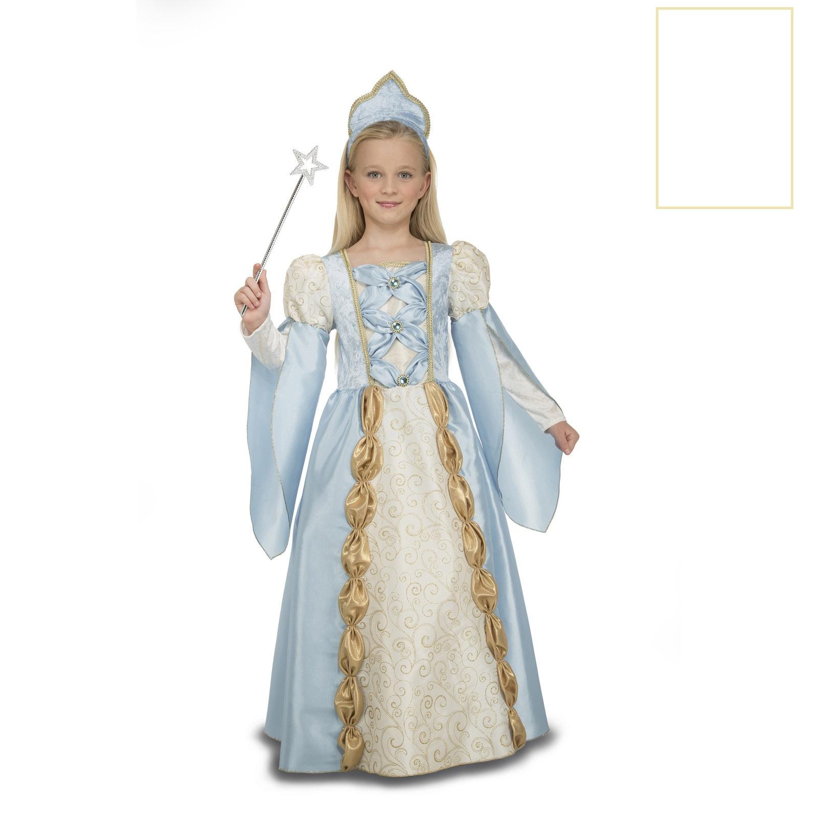 disfraz reina azul niña 204113mom - DISFRAZ DE REINA AZUL NIÑA