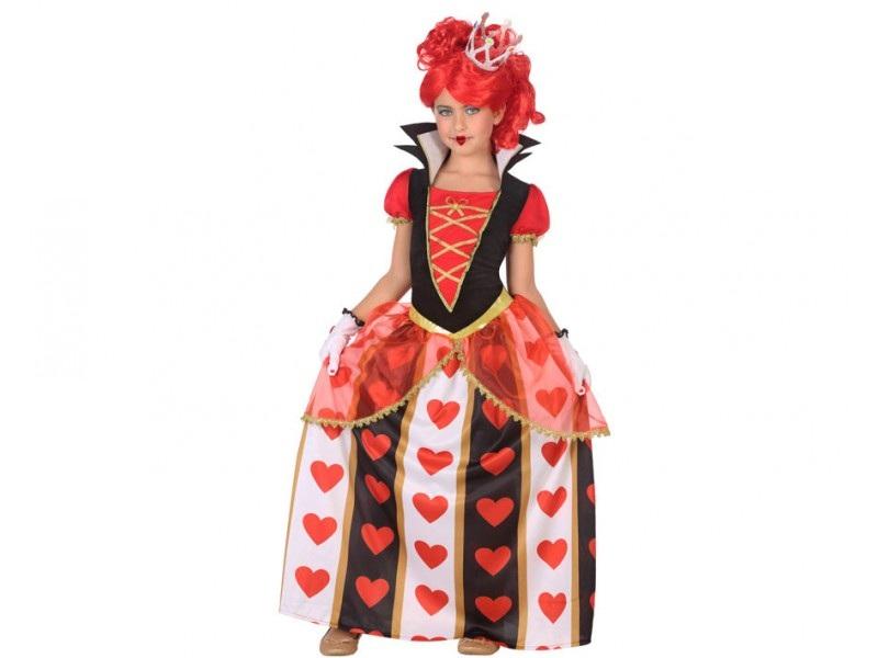 disfraz reina corazones niña - DISFRAZ DE REINA DE CORAZONES NIÑA